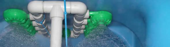 Система очистки воды с напорной аэрацией